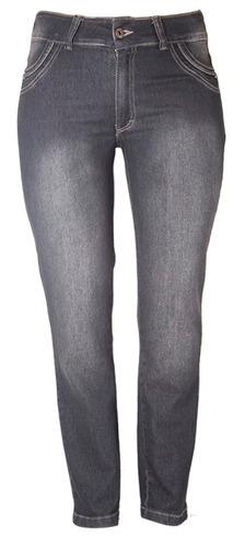 calça jeans feminina sisal tamanho 50 ref 1497