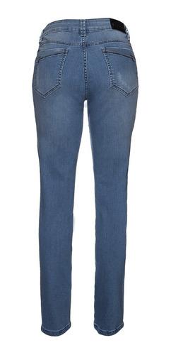 calça jeans feminina skinny anti celulite cintura alta