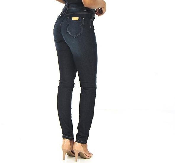 e11810c37 Calça Jeans Feminina Skinny Azul Handara - R$ 129,80 em Mercado Livre