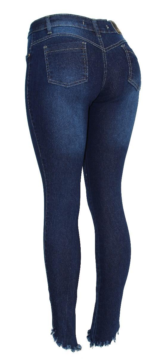 8c446e66524 calça jeans feminina skinny barra rasgada hot pants cós alto. Carregando  zoom.