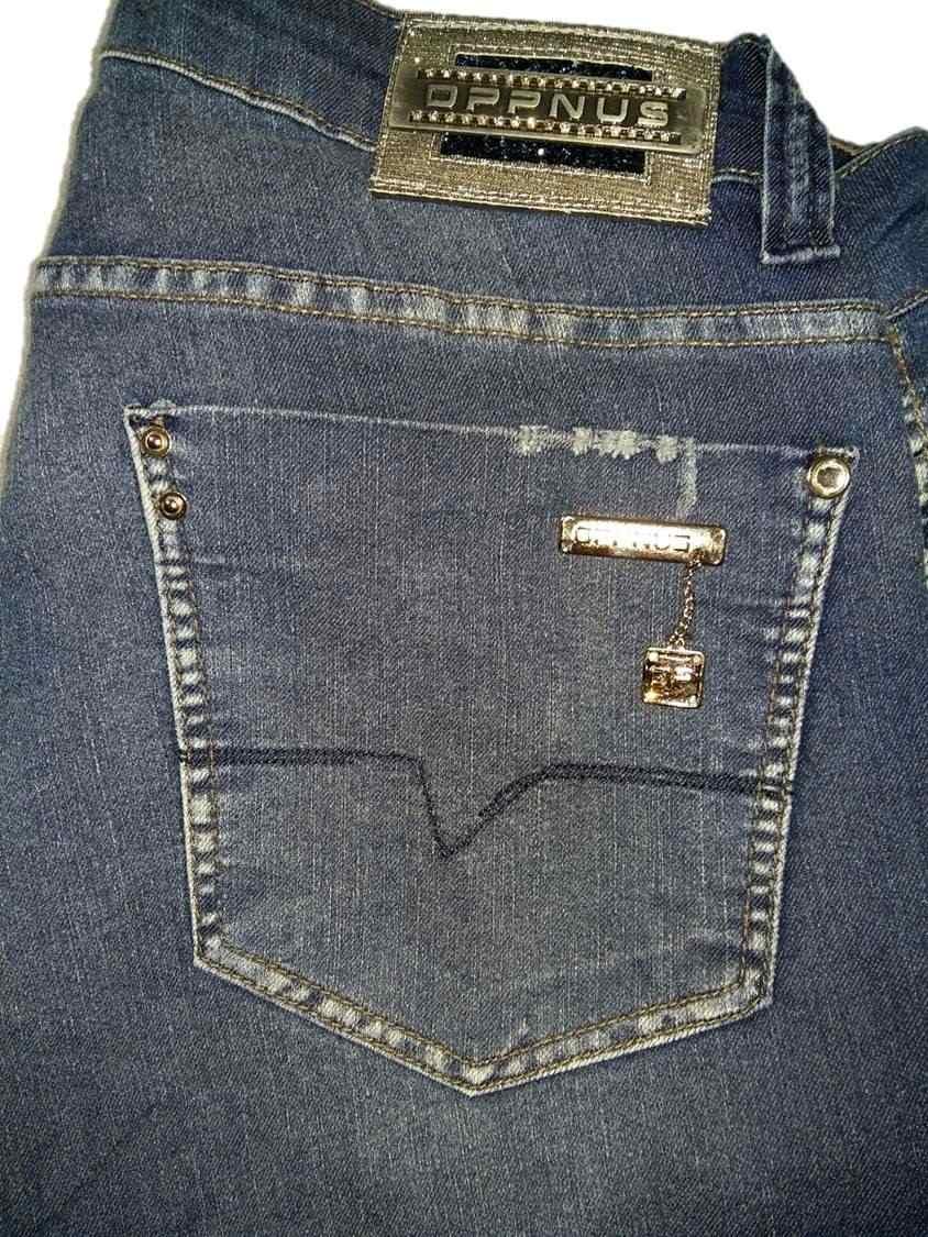 dba91230c calça jeans feminina skinny cós alto com elastano oppnus. Carregando zoom.