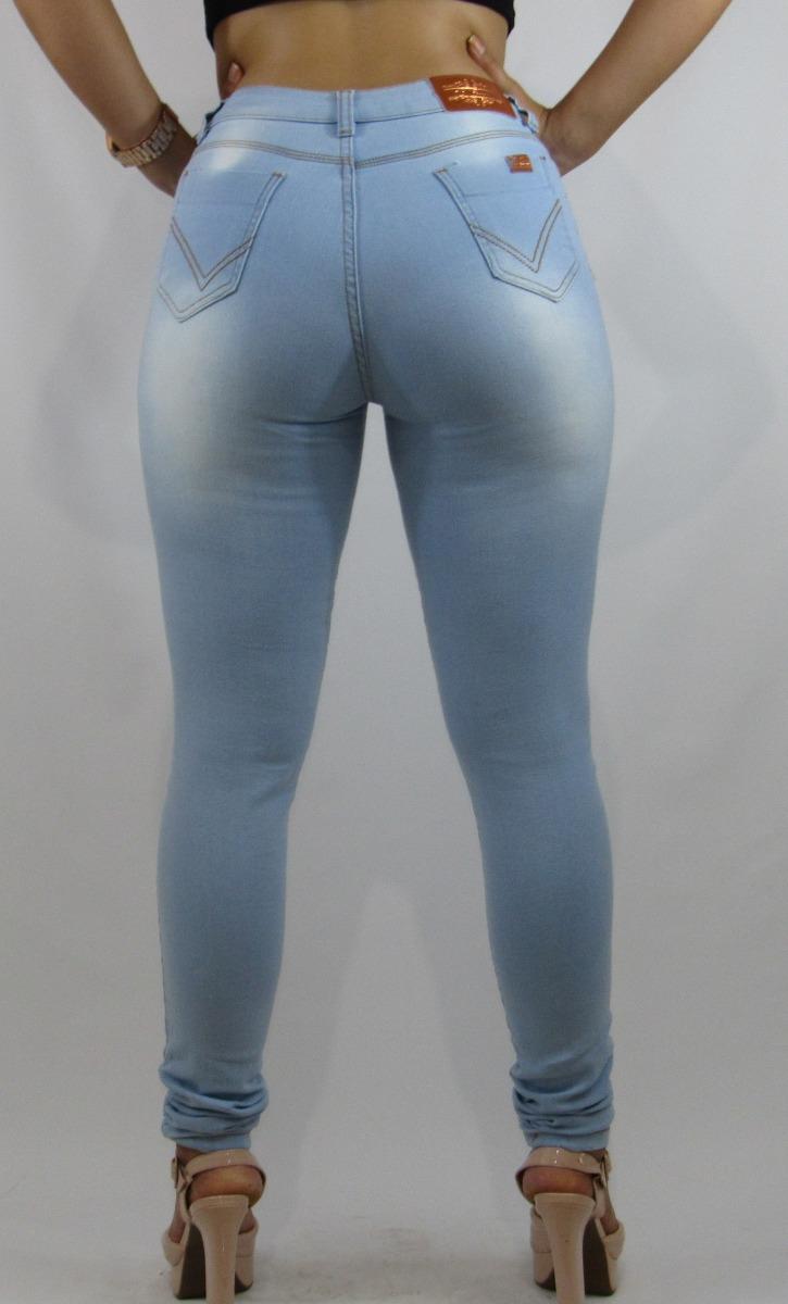 85d8193eab calça jeans feminina skinny delave cintura média clara(2179). Carregando  zoom.