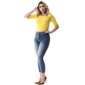 4c0feae27 Calça Jeans Feminina Super Lipo Com Cinta Interna - Sawary por TocTech