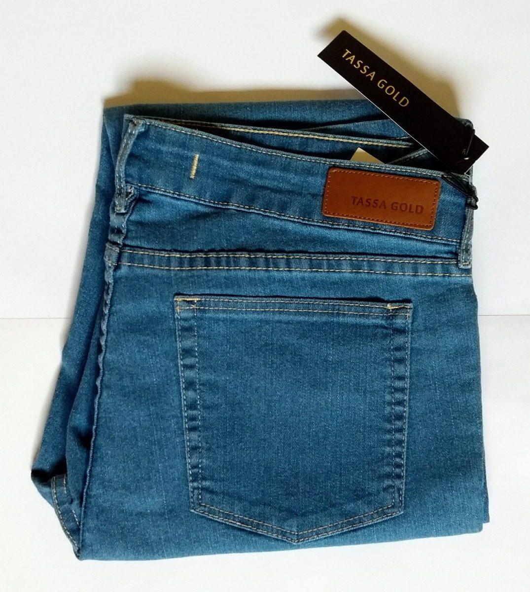 45b400bcc calça jeans feminina, tassa gold, stretch skinny, delavê, 46. Carregando  zoom.