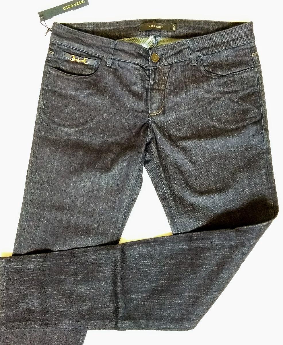 c203716bd calça jeans feminina, tassa gold, stretch skinny, tamanho 46. Carregando  zoom.