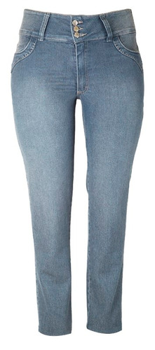 calça jeans feminino sisal tam 52 ref 1492