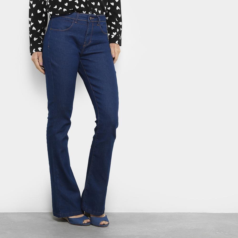 f5a3ca47d Calça Jeans Flare Cantão Cintura Média Feminina - R$ 139,99 em ...