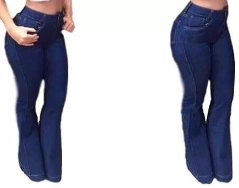 0ec7df6ad Calça Jeans Flare Cintura Alta Feminina Promoção - R$ 62,00 em ...