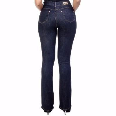 ac10858a9 Calça Jeans Flare - Cintura Alta - Hot Pants,disco Pants - R$ 329,70 ...