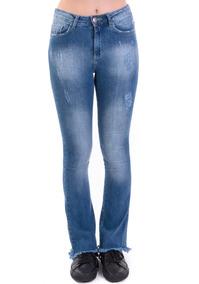 505d6832a Gang Pelotas - Calças Jeans Feminino no Mercado Livre Brasil