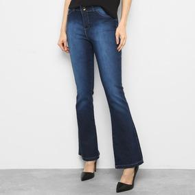 de0cba030 Calça Flare Jeans Estonada - Calças Feminino no Mercado Livre Brasil