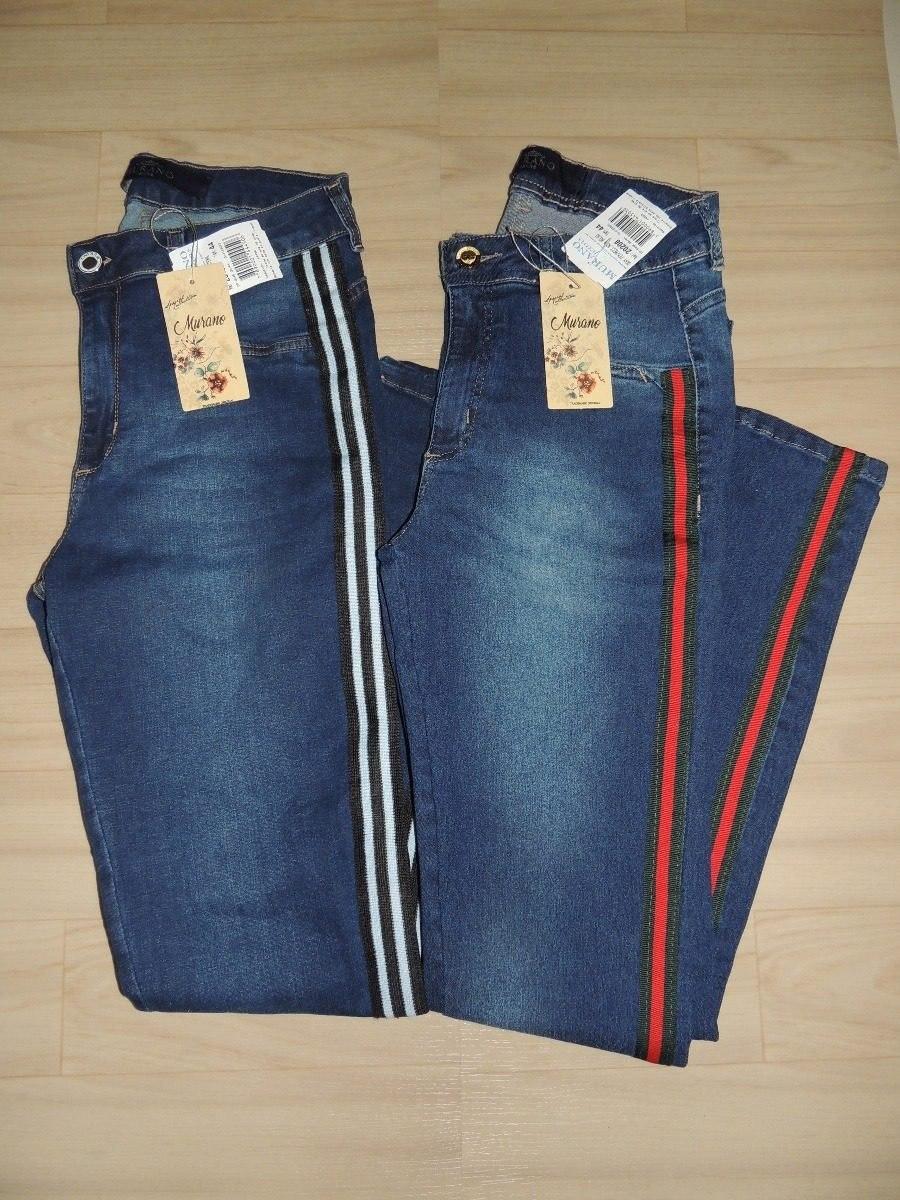 2662ef2d8 calça jeans flare com faixa lateral - promoção. Carregando zoom.