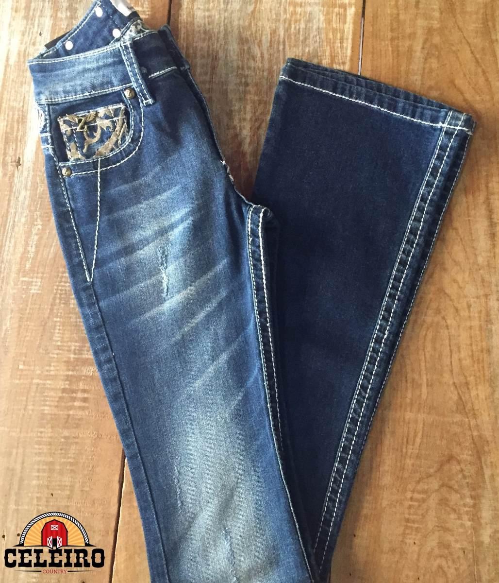 calça jeans flare feminina golden zenz western promoção. Carregando zoom. 2a008e9e002