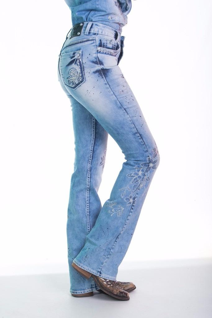 6a47067ef62 calça jeans flare feminina spring blue zenz western promoção. Carregando  zoom.