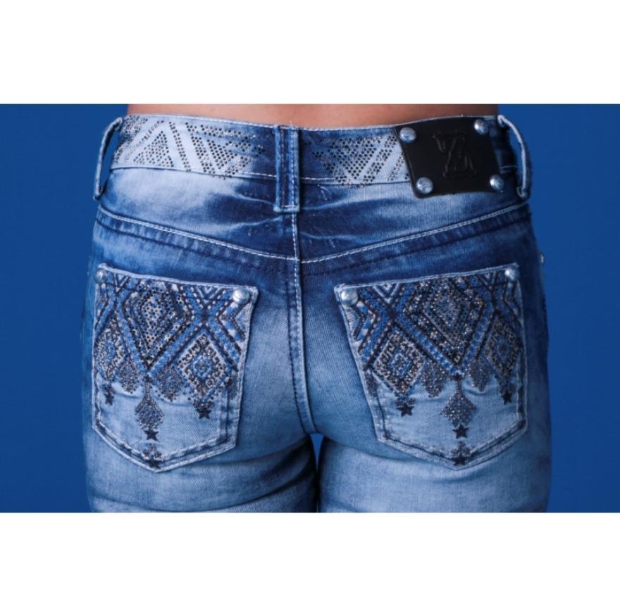 b540ce49725 calça jeans flare feminina zenz western galaxy promoção. Carregando zoom.
