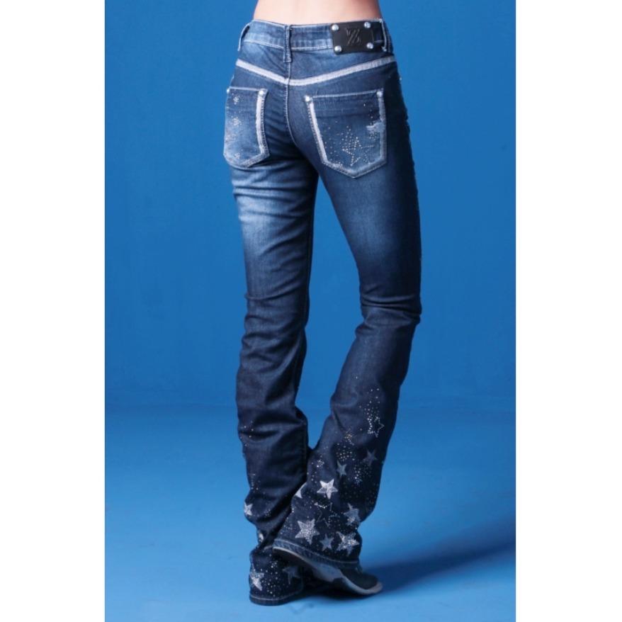 3cddbc2dd6f calça jeans flare feminina zenz western like star promoção. Carregando zoom.