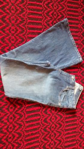 calça jeans flare gap 36