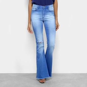 5f81eb4662 Calça Jeans Numero 44 Cintura Alta - Calças Feminino no Mercado ...