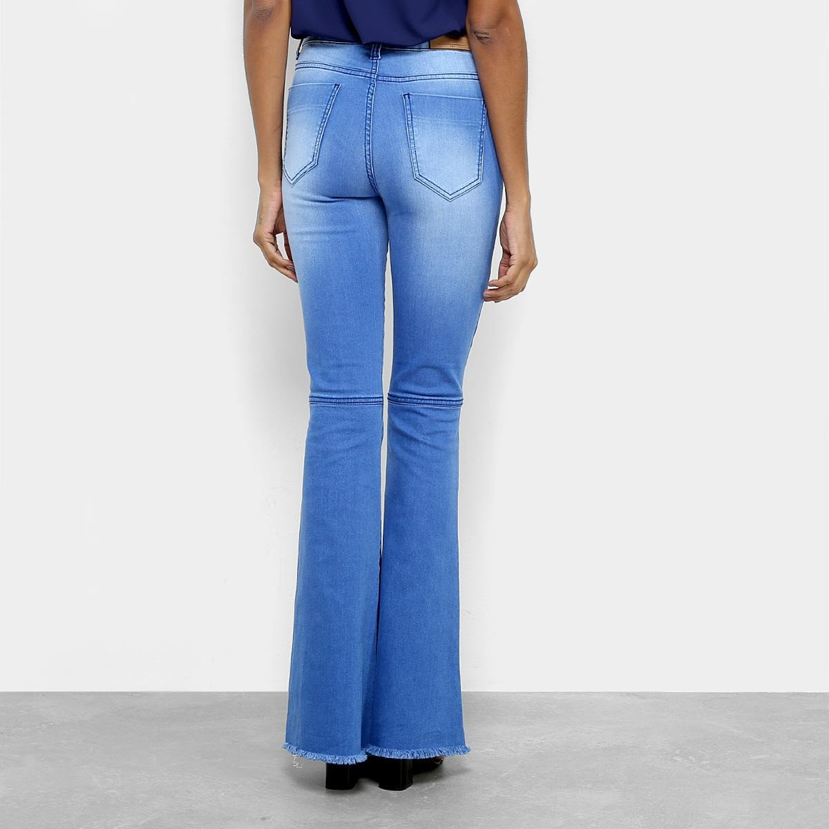 6b206f0bf calça jeans flare handbook tereza cintura alta feminina. Carregando zoom.