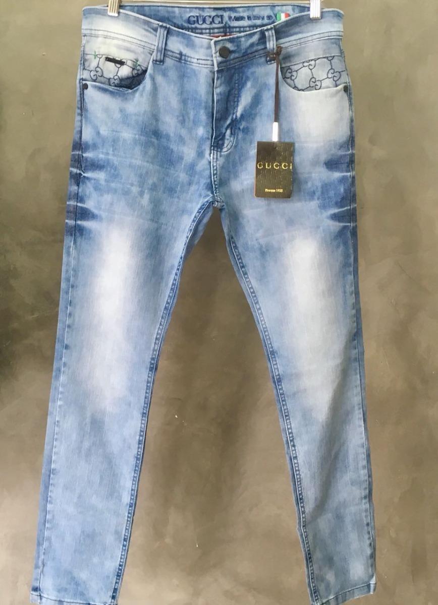 40a4ea2b8bec0 Calça Jeans Gucci Original Importada Promoção