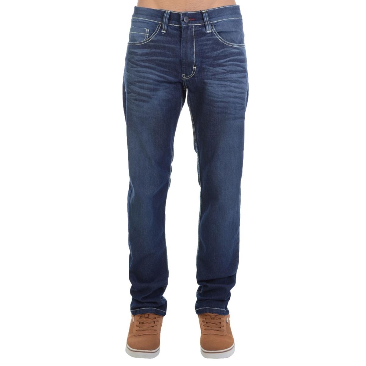 e6ef0732fe calça jeans hd slim fit azul. Carregando zoom.