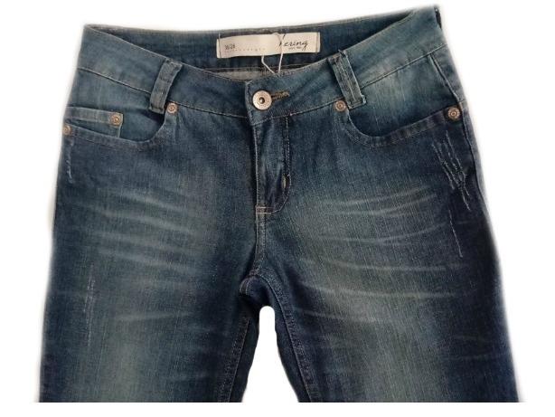 f02a83208 Calça Jeans Feminina Hering Skinny ( H5lx )sfk - R$ 124,99 em ...