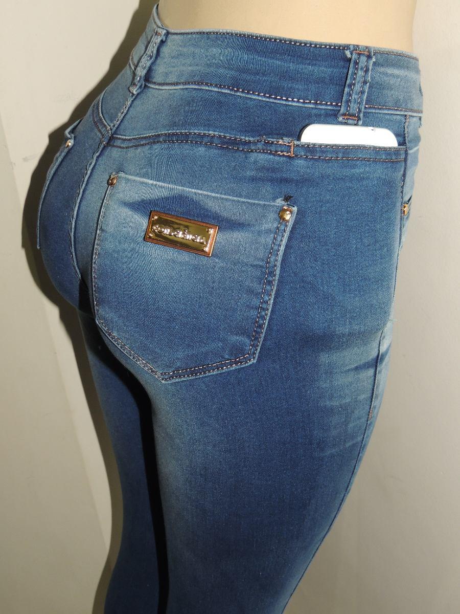 Cala Jeans Hot Pants Bolso P Celular Cintura Alta - R -5138
