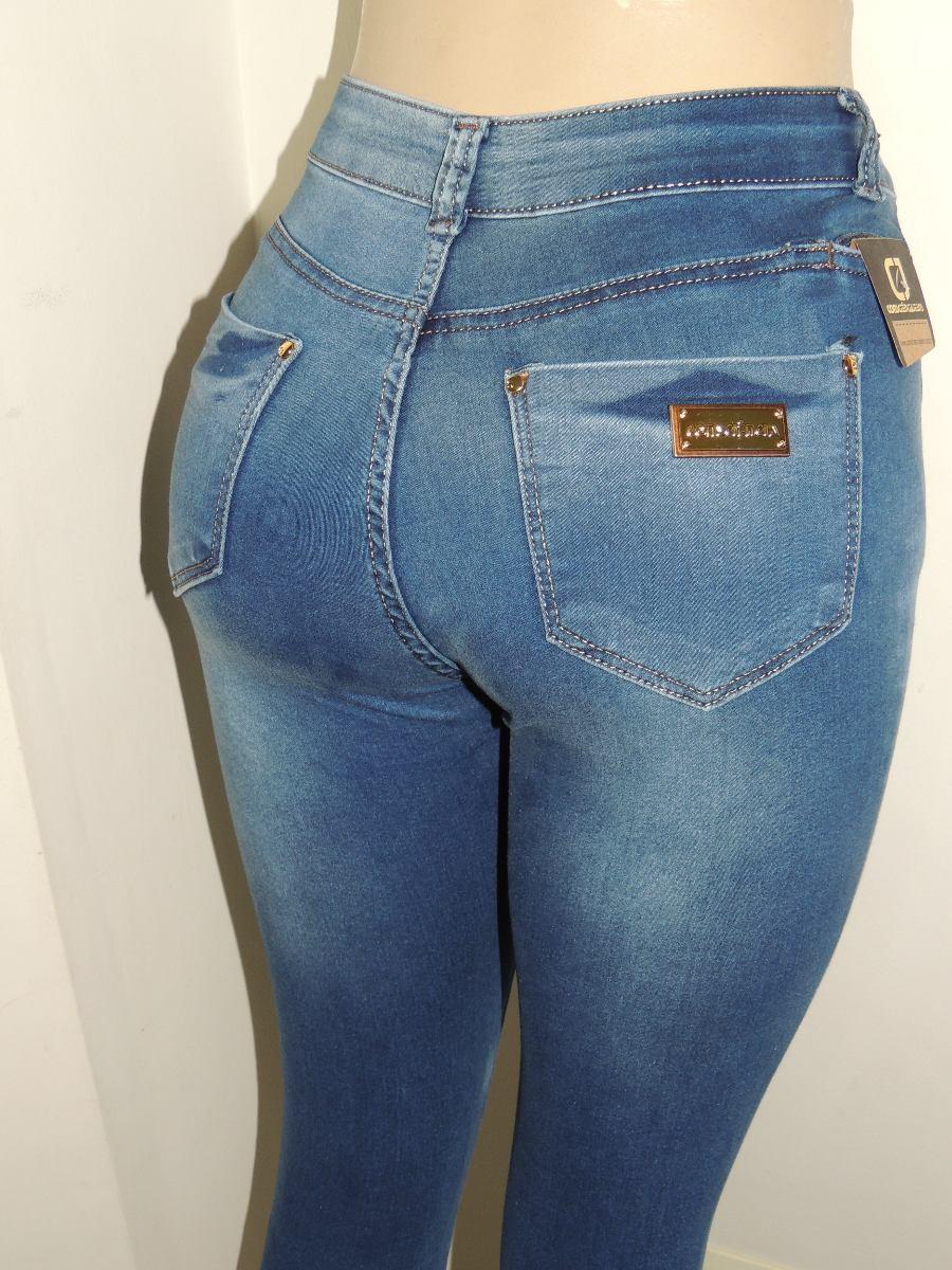 Cala Jeans Hot Pants Bolso P Celular Cintura Alta - R -9414