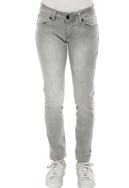 Calça Jeans Hurley 81 Skinny Cinza - R  139 4705281e15d