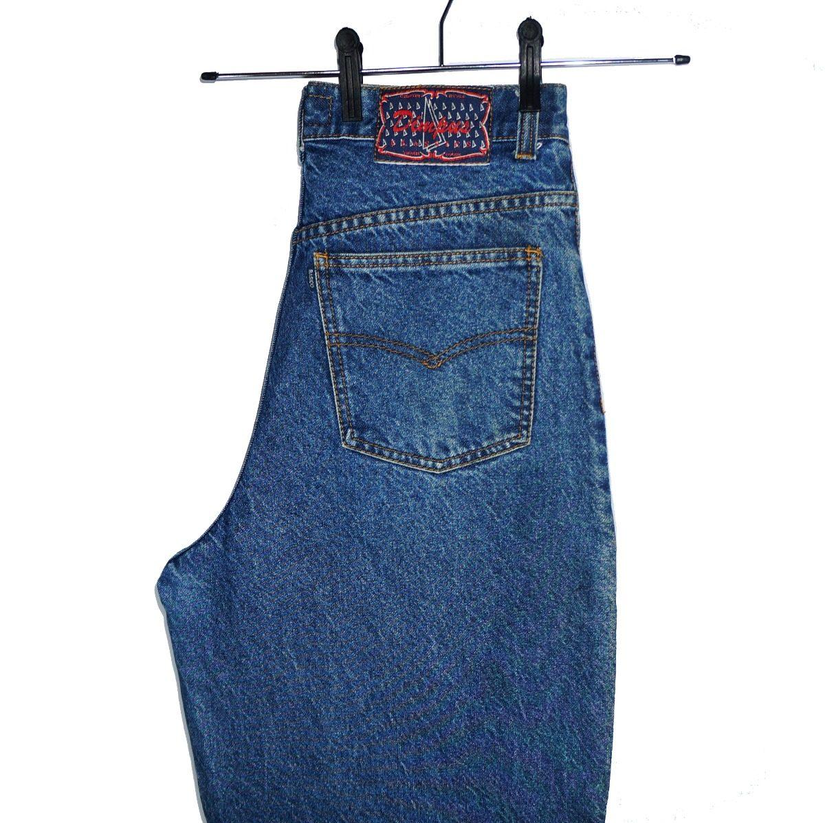 758bb2b41a Mom Jeans Original Anos 90 Calça Jeans Vintage Cintura Alta - R  199 ...