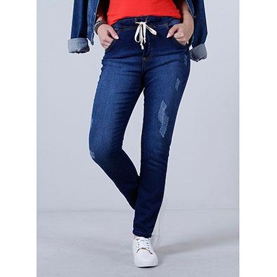 a20b270341 Calça Jeans Jogger Feminina Max Denim - R$ 79,99 em Mercado Livre
