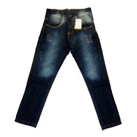 Calça Jeans Juvenil Infantil Masculina Atacado Menino