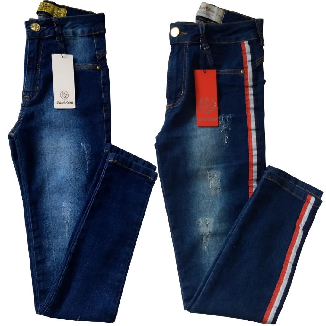 3ae2716a7 Calca Jeans Kit 2 Calcas Femininas - Promocao - R$ 120,00 em Mercado ...