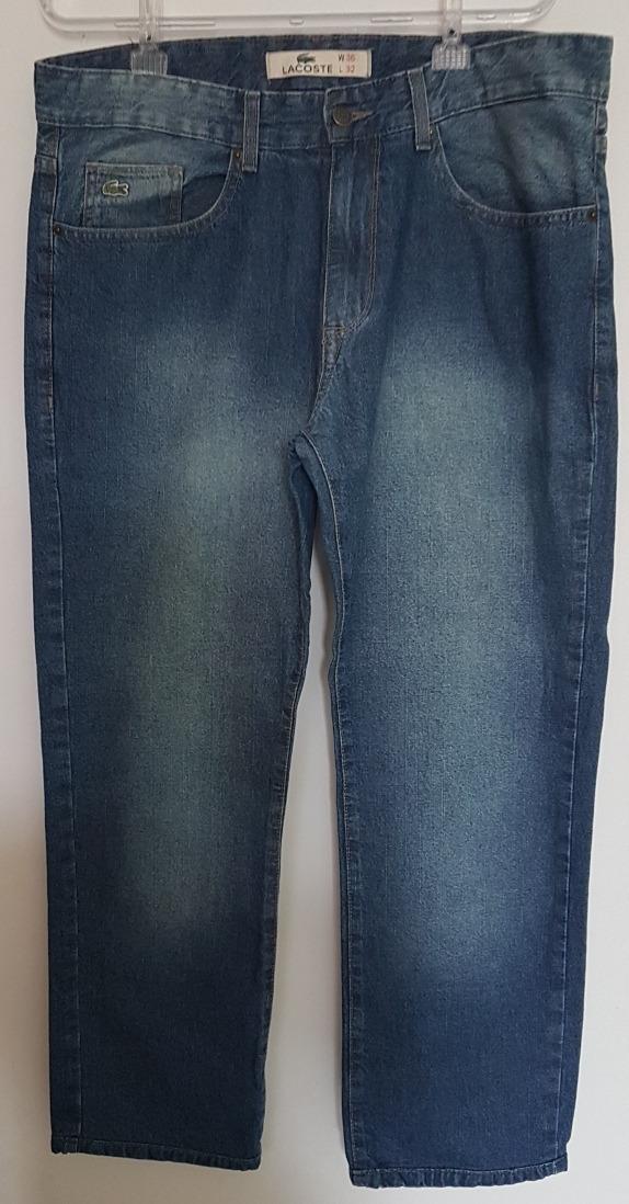 7e44be68d1d48 calça jeans lacoste original t46. Carregando zoom.