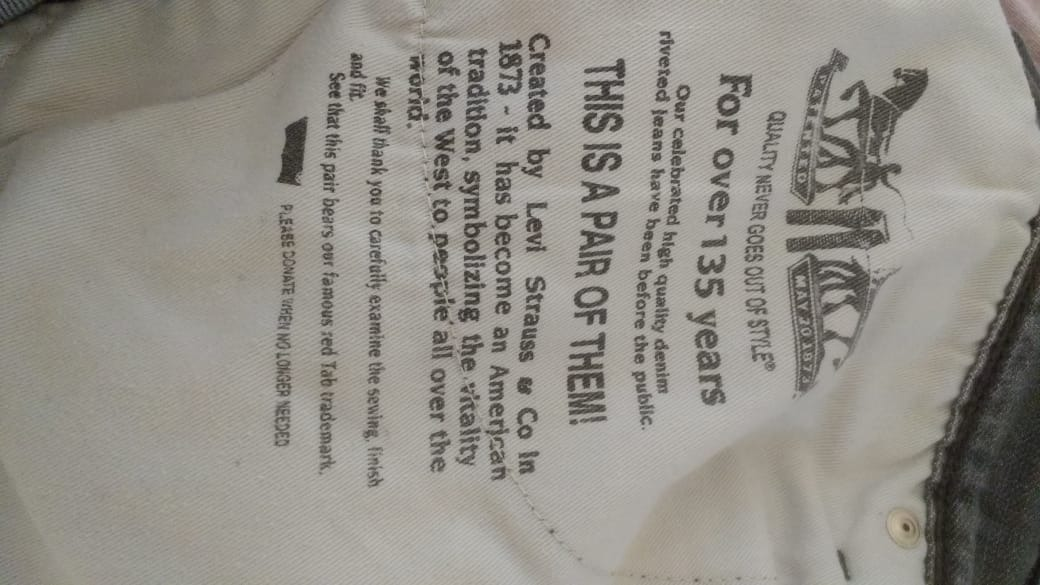 adec817875fc4 calça jeans levi s 514 masculina- jeans cinza claro w33 l34. Carregando zoom .
