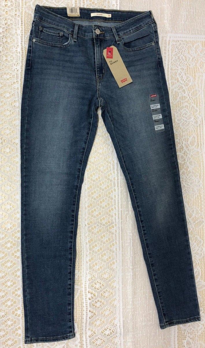 ac8659857f8f3 calça jeans levi s 711 skinny - feminina. Carregando zoom.