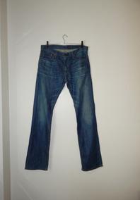 97b72bff7 Calça Jeans Levi's Azul 514 Straight Masculina - Tamanho 44