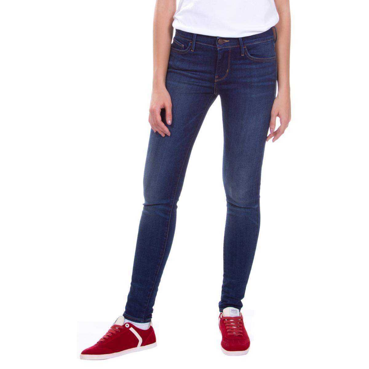 calça jeans levis feminina 710 super skinny azul. Carregando zoom. bdbac0138f7
