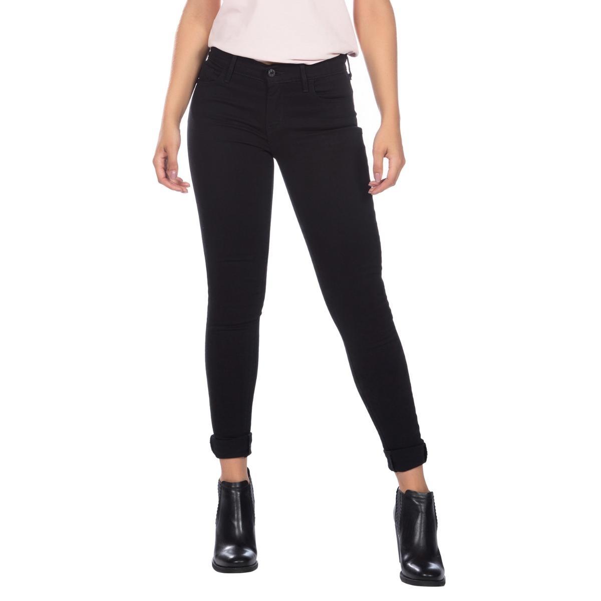 calça jeans levis feminina 710 super skinny preta. Carregando zoom. 7aad39e998c
