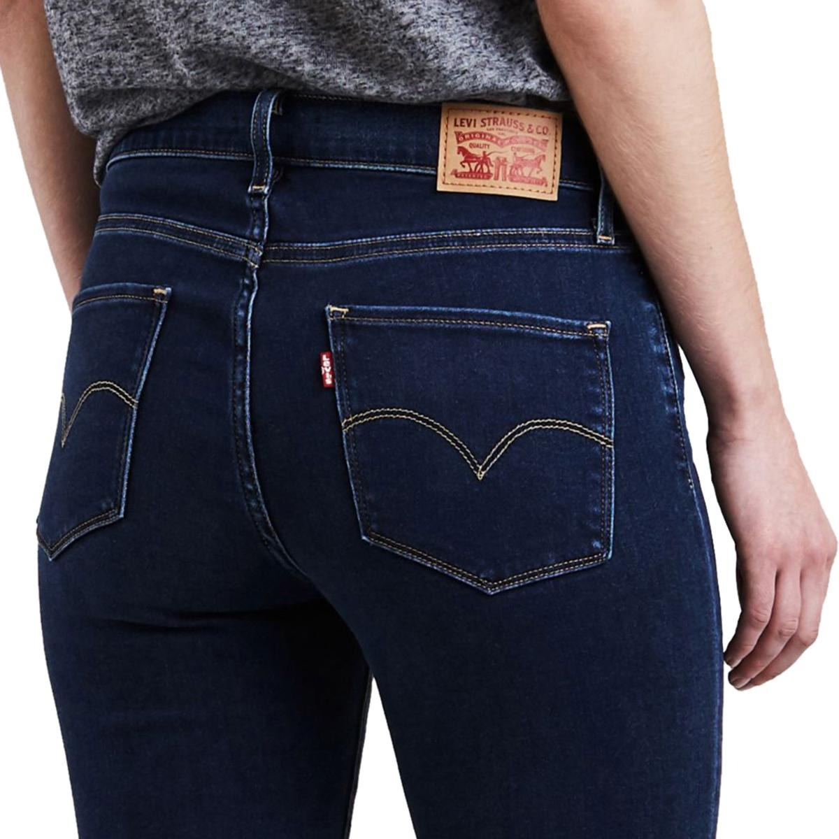 d684dcc331e80 calça jeans levis feminina 720 high rise super skinny escura. Carregando  zoom.