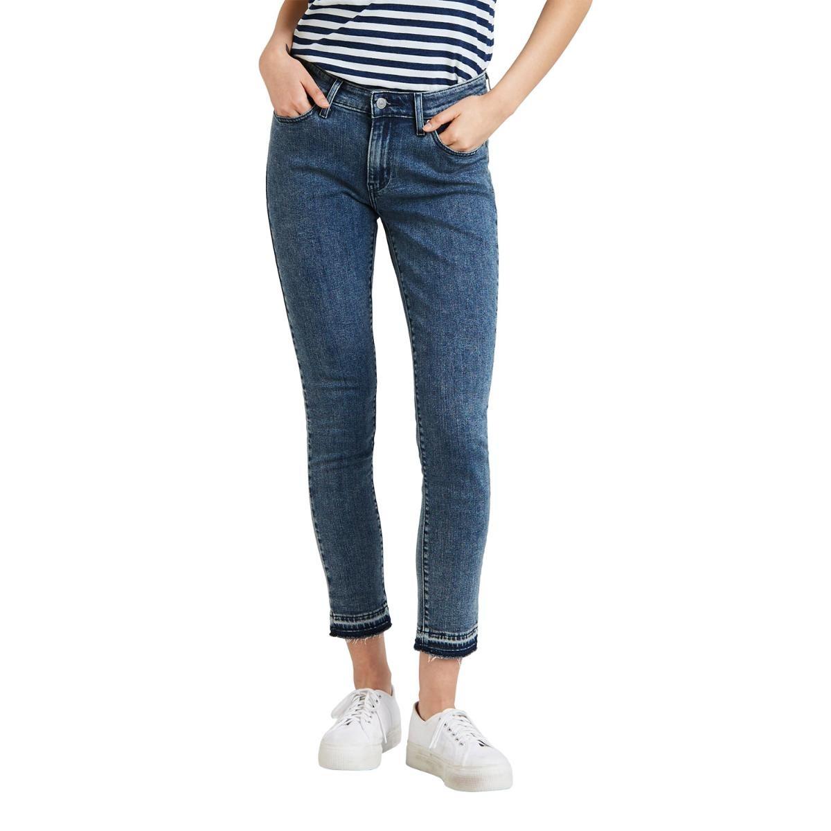 4c85fee7b0445 calça jeans levis feminino 711 skinny média. Carregando zoom.