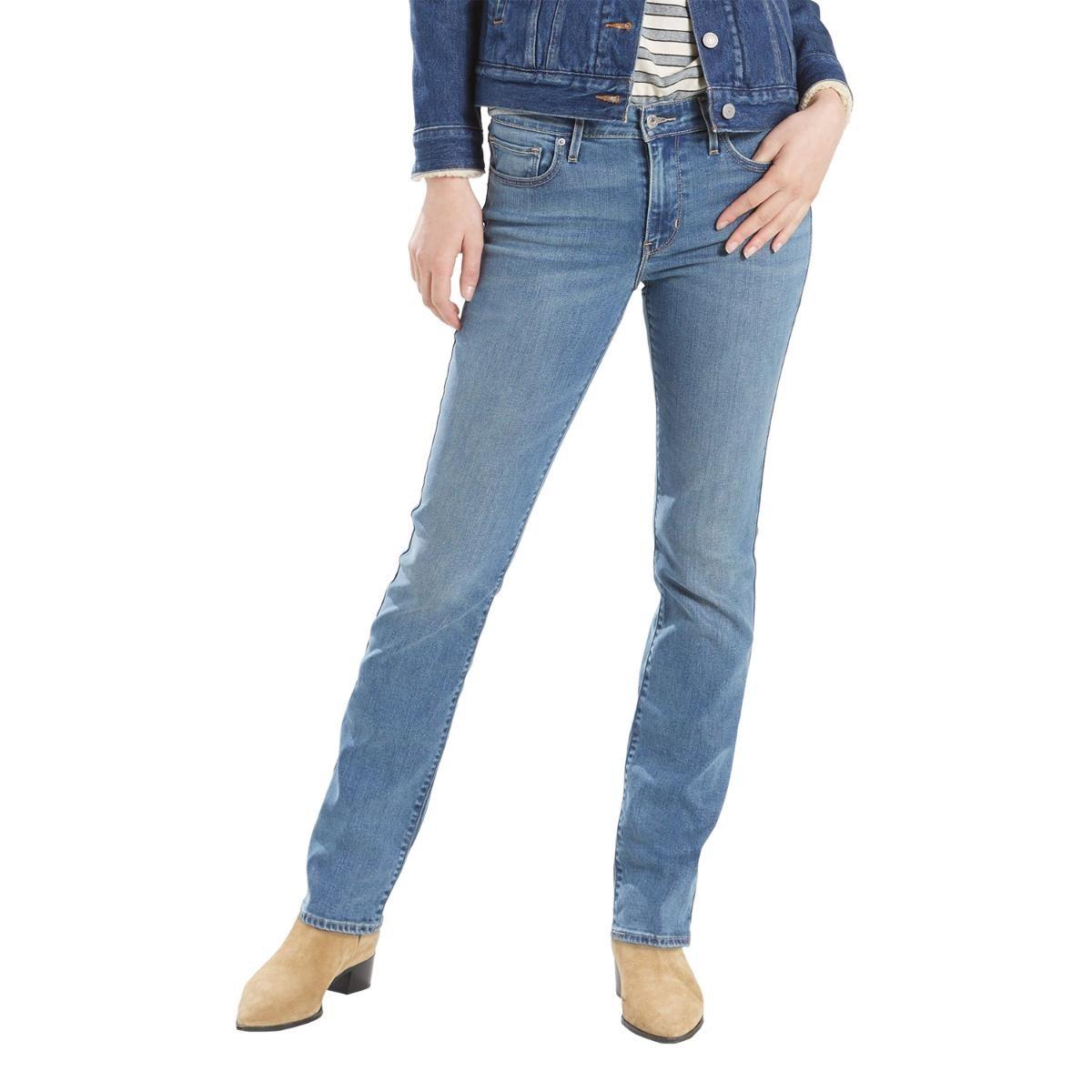 909b8d53d calça jeans levis feminino 712 slim média. Carregando zoom.
