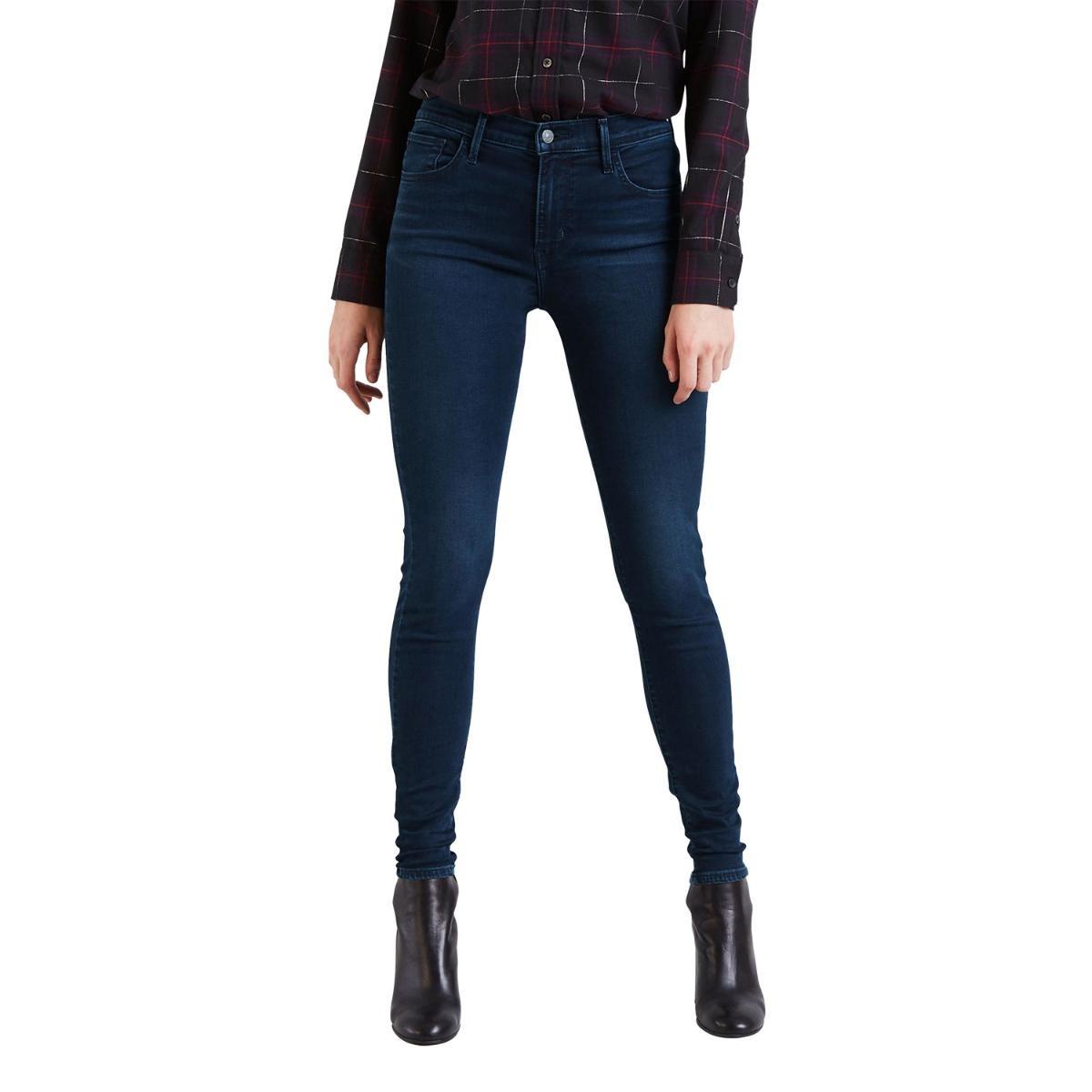 08258c9a7d932 calça jeans levis feminino 720 high rise super skinny escura. Carregando  zoom.