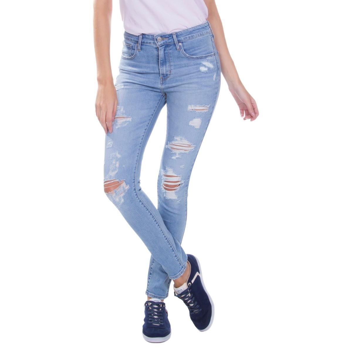 Calça Jeans Levis Feminino 721 High Rise Skinny Clara - R  329,90 em ... 6ba3f61223
