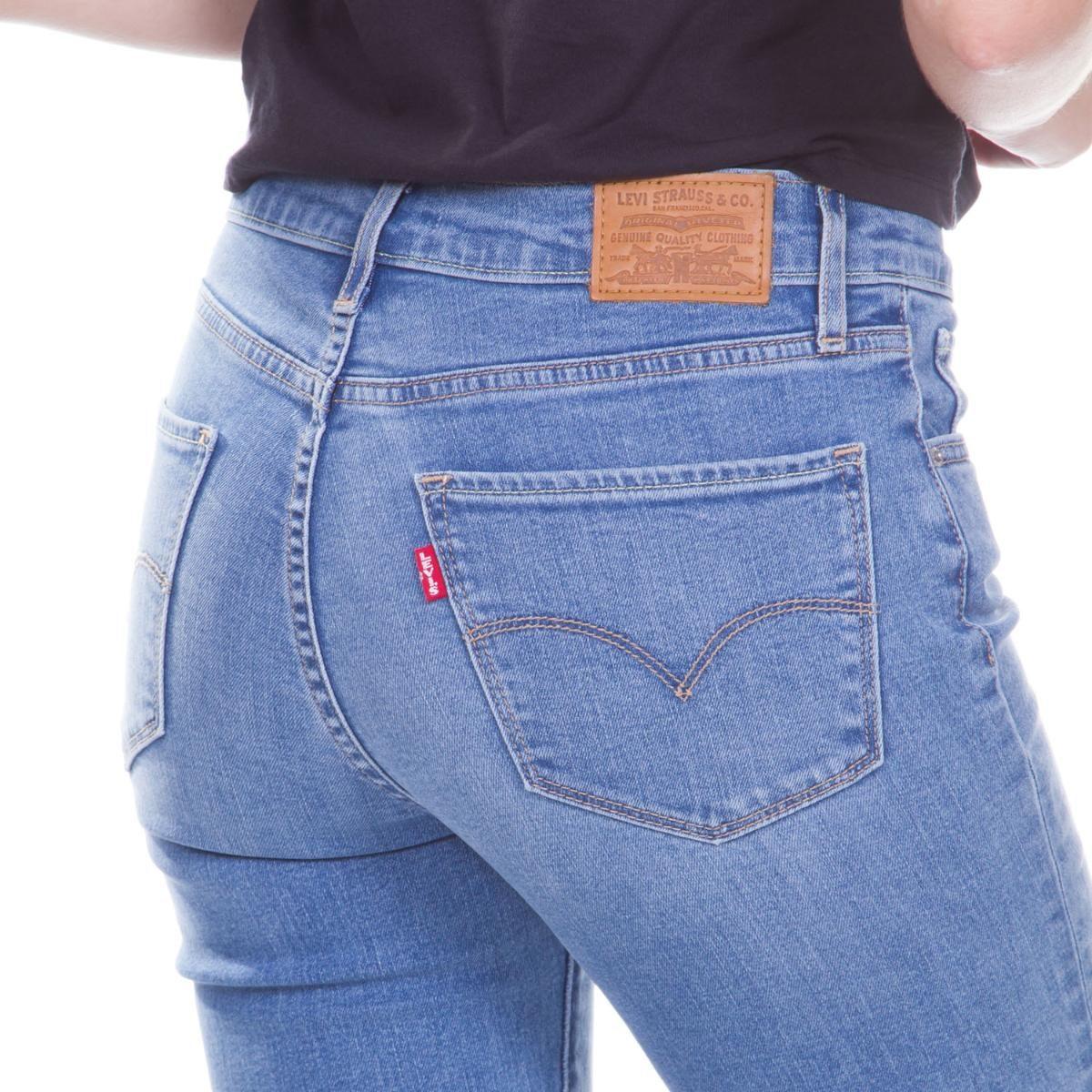 ... 724 high rise straight média. Carregando zoom... calça jeans levis  feminino. Carregando zoom. 0e72bbe7367