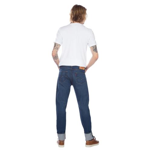 calça jeans levis masculino 501 taper indigo