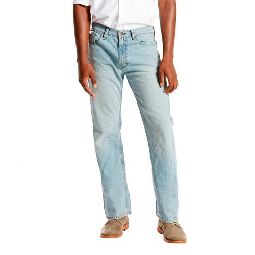 calça jeans levis masculino 505 regular clara