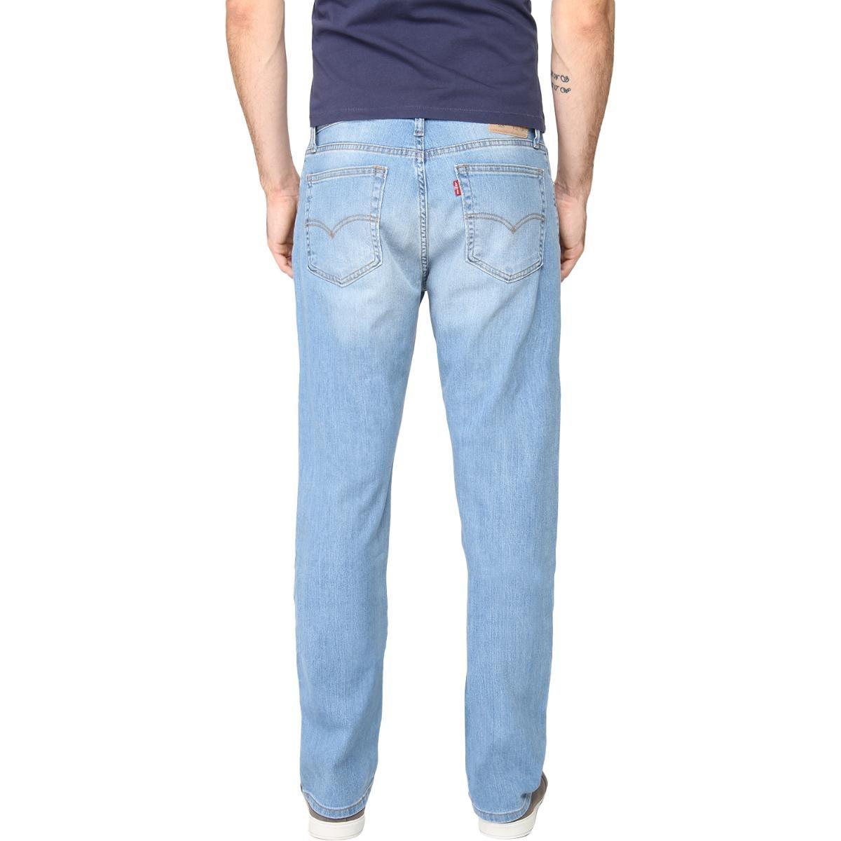 6eece0dd04238 calça jeans levis masculino 505 regular fit azul claro. Carregando zoom.