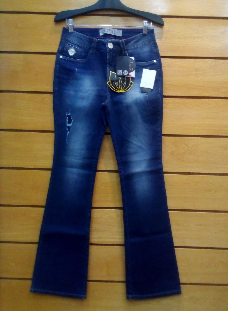 3dc8697a6 Calça Jeans Linda Z Tamanho 44 - R$ 289,90 em Mercado Livre