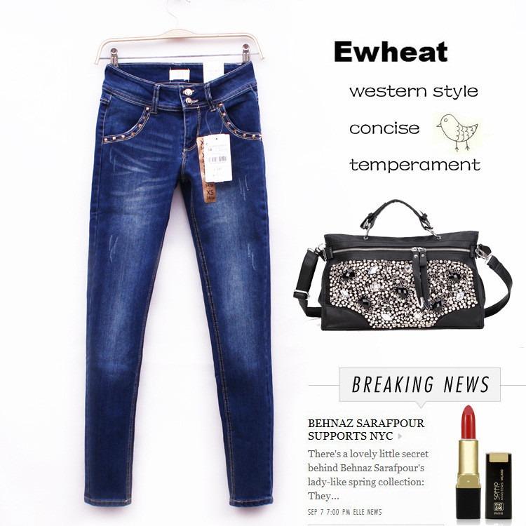 e8d3f20ac Calça Jeans Marca Zara Original Skinning Azul Marinho, Básic - R ...